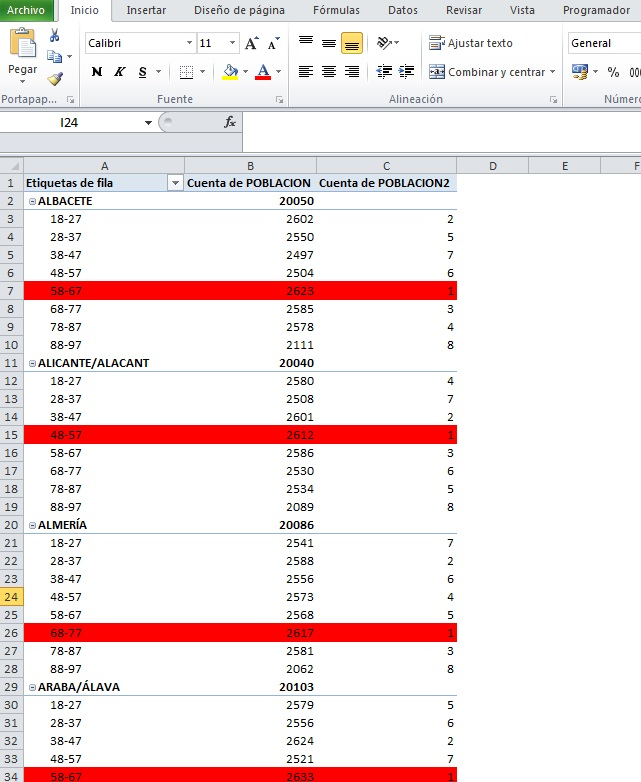 how to set the color of a cell using vba