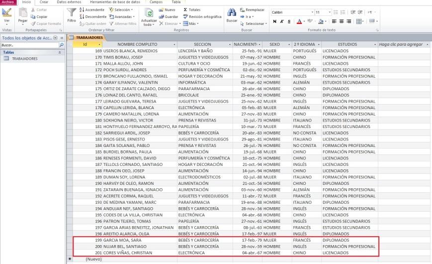 AÑADIR REGISTROS EN ACCESS DESDE EXCEL CON VBA3