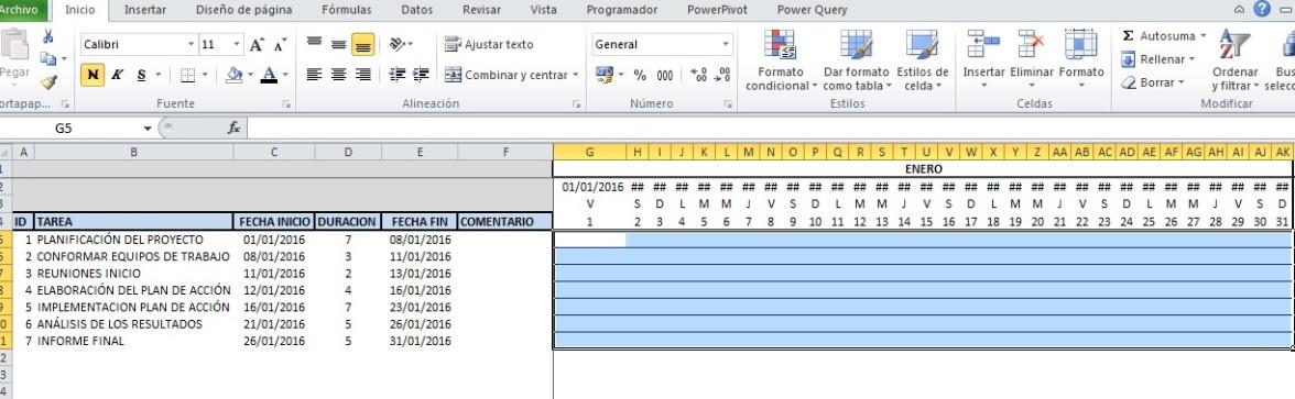 CONFECCIONAR DIAGRAMA DE GANTT EN EXCEL CON VBA1