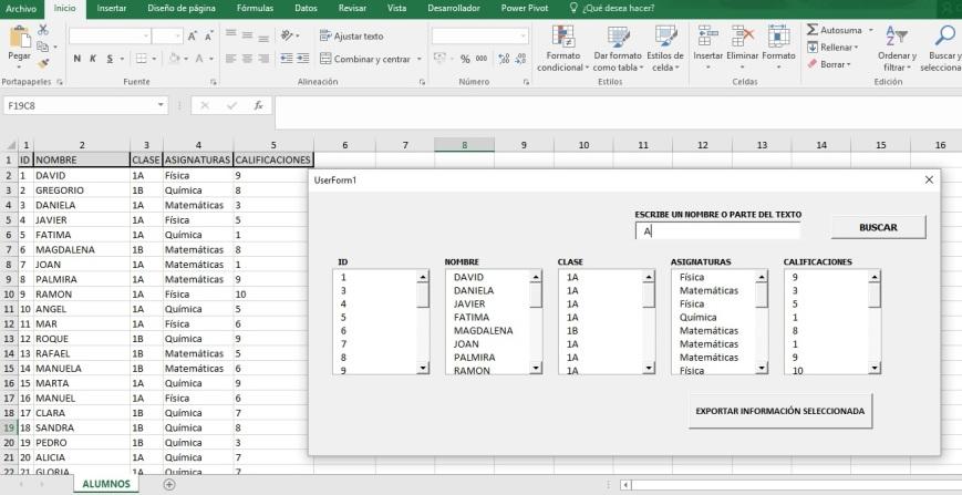 EXPORTAR DATOS SELECCIONADOS DE UN LISTBOX A OTRO LISTBOX EN OTRO FORMULARIO1