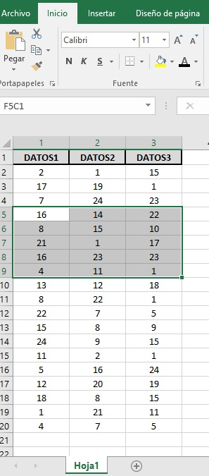 EXTRAER REGISTROS UNICOS DE UN RANGO DE DATOS1