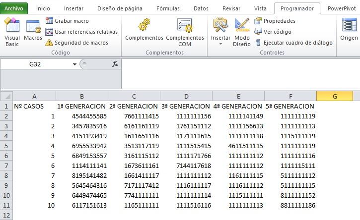 GENERANDO UN ALGORITMO GENETICO EN VBA7