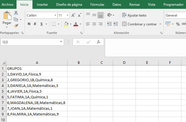 EJEMPLOS_CONSOLIDAR VARIOS ARCHIVOS CSV O TXT USANDO CONEXION DE DATOS EXTERNOS Y VBA1