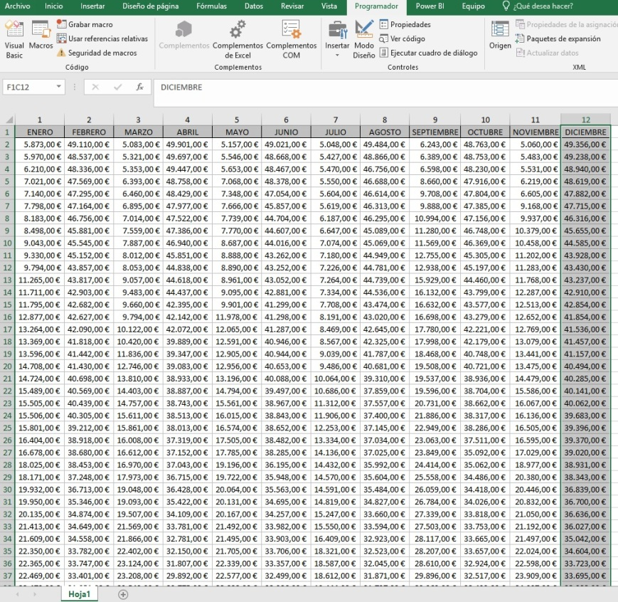 ordenar columnas de forma ascendente o descendente si son pares o impares2